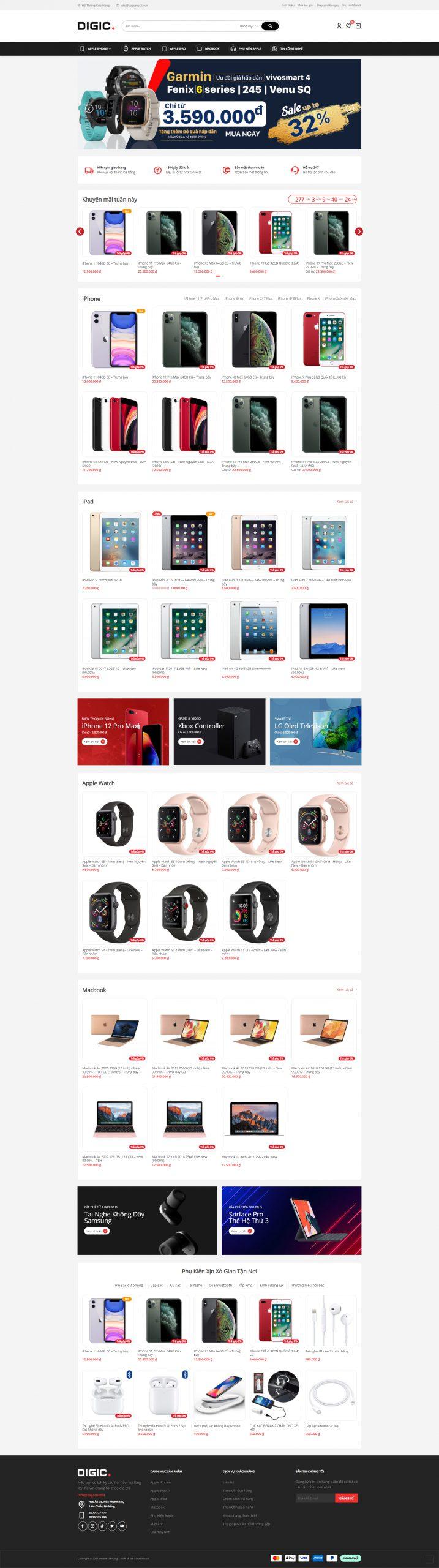 Giao diện website Sago19 Full