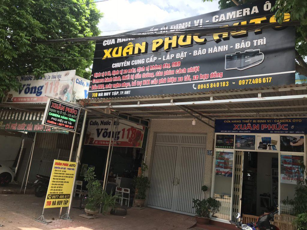 Website Xuân phúc Auto